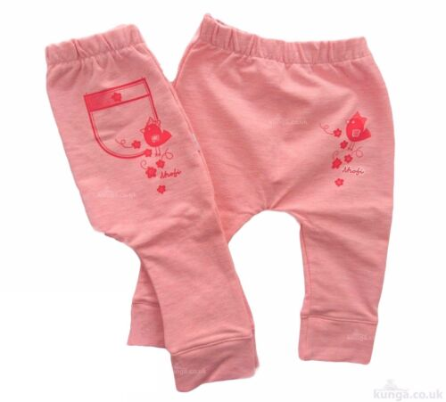NEW High Quality 6-9//12-18 Months Baby Girls *Trousers// Pants *SOFT COTTON