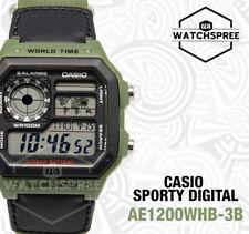 卡西歐 ae-1200whb 標準數字手表 ae1200whb-3b
