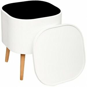 White Coffee Table With Storage Modern End Side Tables Small Square