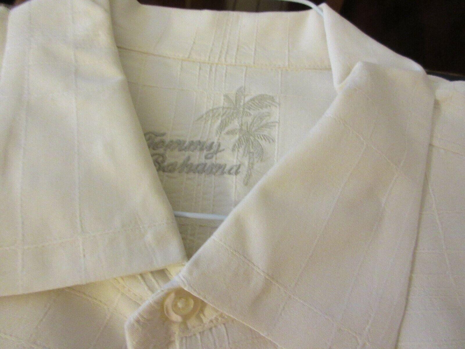 Tommy Bahama , Men's Short Sleeve , XL/TG , 100% Silk