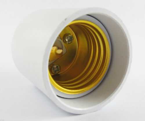 GU24 to E27 Socket Base LED Halogen CFL Light Bulb Lamp Adapter Converter Holder