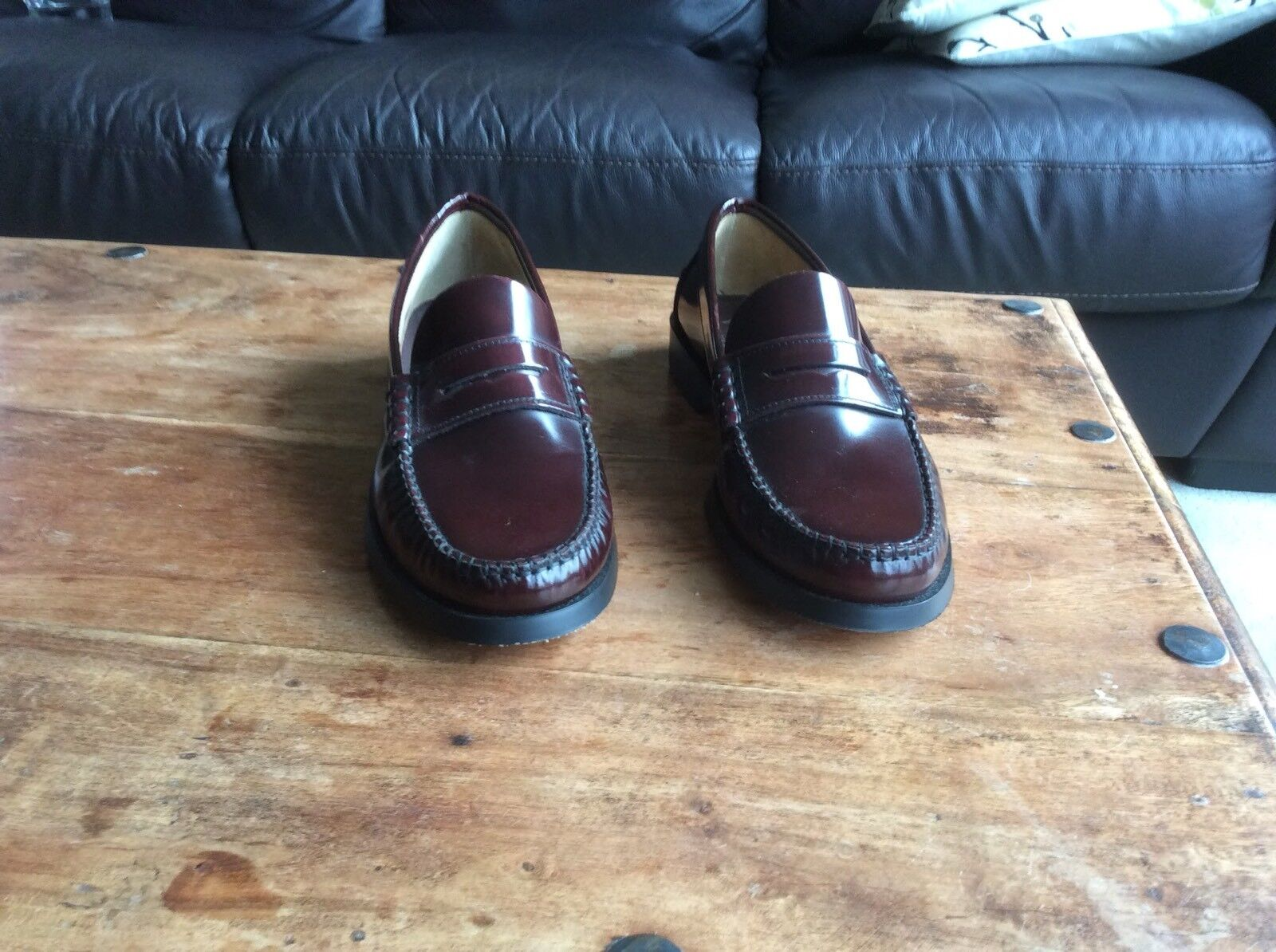Men's, 44 Repite, Spanish, Oxblood, Leather Loafers, 44 Men's, 8f9b48