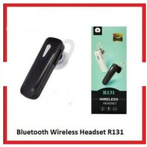 R131-Wireless-Headset-White-Bluetooth-Connection-Ear-Phone-Receiver