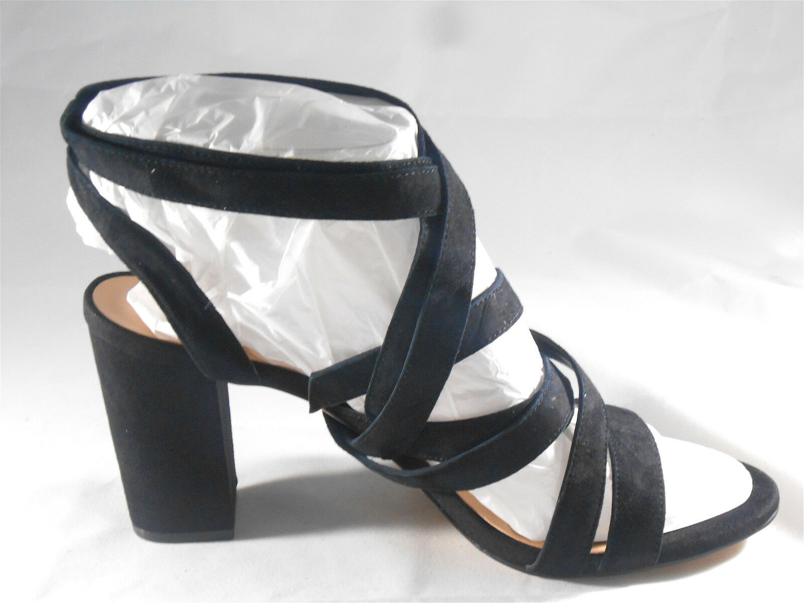 INC INTERNATIONAL CONCEPTS (KAILEY (KAILEY (KAILEY BLACK SUEDE SANDAL) WOMENS SIZE 10 NEW 4118de