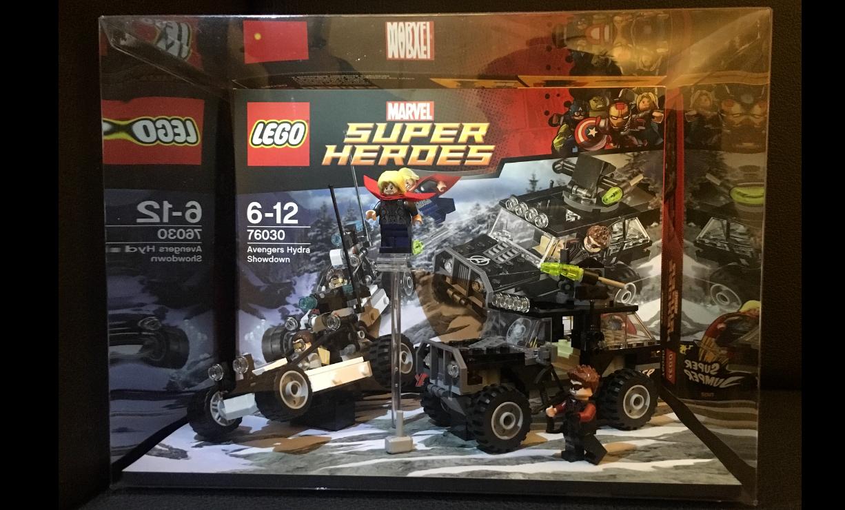 Lego 76030 Showcase Super Heroes Avengers Hydra Showdown Diorama Schaukasten RAR