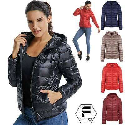 Womens Packable Down Jacket Ultra Light Weight Winter