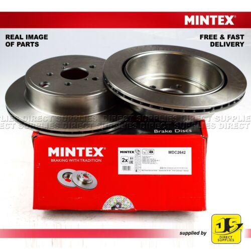 2X MINTEX REAR DISC BRAKES MDC2642 FITS FOR SUBARU BRZ LEGACY V OUTBACK
