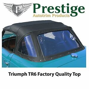Details about Triumph TR6 Convertible Top Soft Top Tops