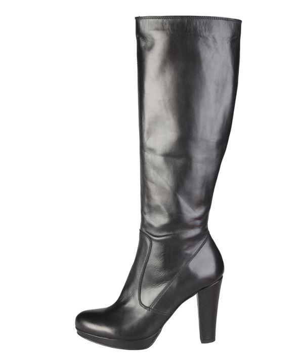 Versace V1969 GRAZIELLE black Echtleder Stiefelette Stiefel Gr 37 39