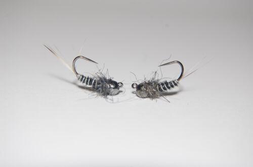Nymphe  3 Stück Tungsten Pheasant Tail Jig CK
