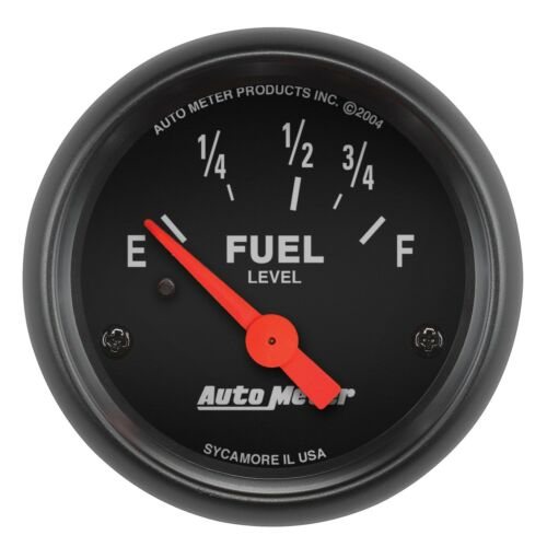 "Auto Meter 2-1//16/"" Z-Series Electric Fuel Level Gauge 73-10 Ohm"