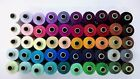 800 meters 100% Spun Polyester 2 ply Sewing Machine Thread-50 Tubes Spools LOT