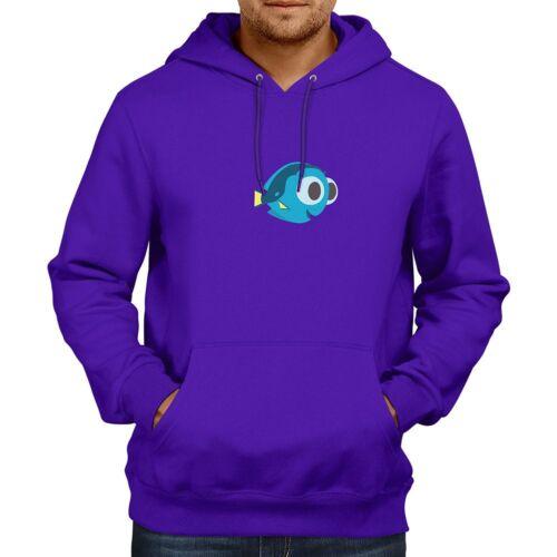 Baby Dory Regal Blue Tang Fish Hooded Sweater Pullover Hoodie Winter Sweatshirt