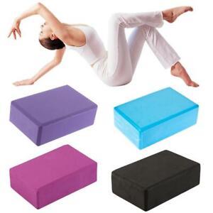 Yoga-Block-Pilates-Foam-Foaming-Brick-Stretch-Health-Fitness-Exercise-AL