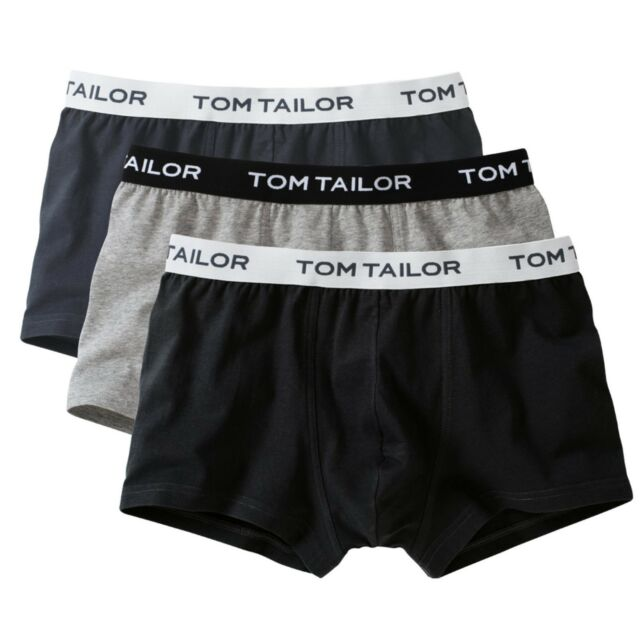 08f60bbe4b97 Pack of 3 Tom Tailor Pants Hipster Briefs Various Colours 70162 L ...