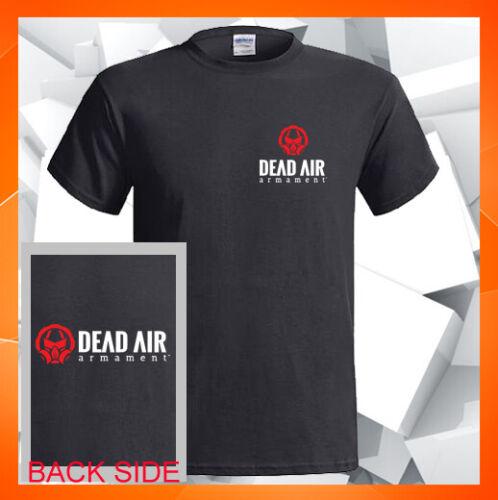 Dead Air Armament Silencer Nomad NEW 2 Sides Men/'s Black T-Shirt S M L XL 2XL