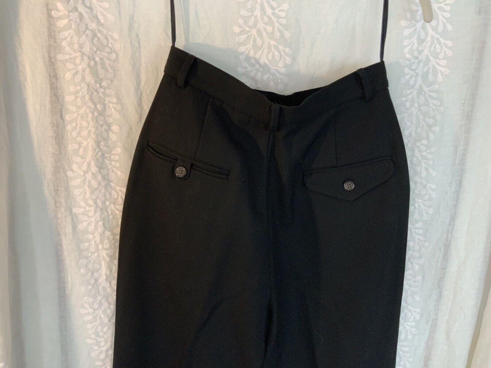 Vintage Ralph Lauren pants black 80s 90s - image 6