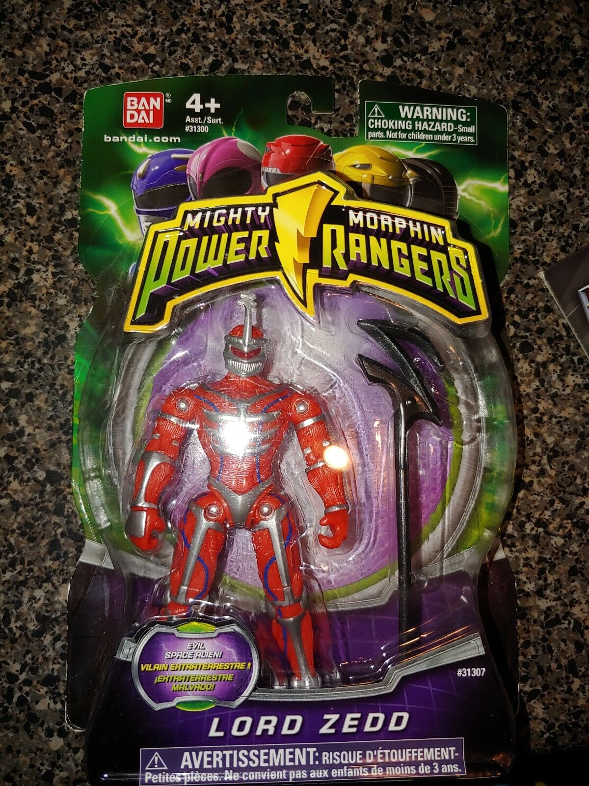 Mighty Morphin Power Rangers - 2010 - Lord Zedd - NEW 4