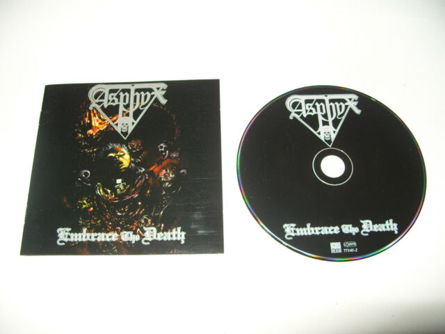 Asphyx Embrace The Death cd 14 tracks 1996 Early Rare Press Ex/Nr Mint Condition