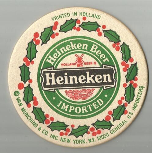 Amstel Light Christmas Theme   Beer Coasters 16 Heineken