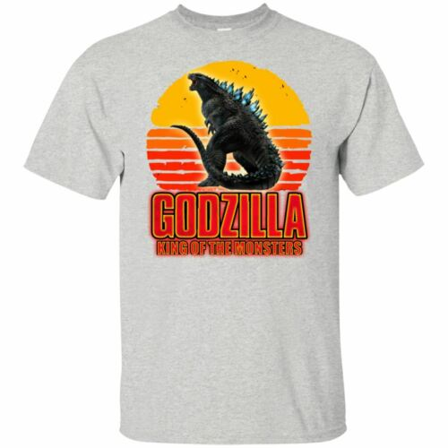 Godzilla Shirt King Of The Moster 2019 Movie T-shirt Retro Gray Ash Clothes