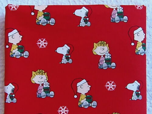 NEW /& HTF Peanuts Snoopy Holiday CHARLIE BROWN HOT CHOCOLATE *Cotton FQ*