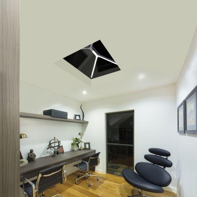 Lantern Orangery Skylight Roof UPVC Clad Aluminium Glass Roof liniar 2500 x 3500