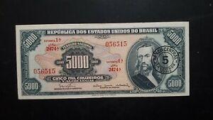 Banconota Brasile 5000 Cruzeiros 2c9yiq6c-07212306-655184265