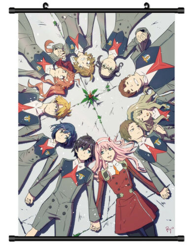 5689 darling in the franxx Decor Poster Wall Scroll cosplay