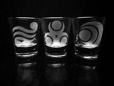 Legend of Zelda Shot Glass Set ~Set of 3~ Goddess Pearls