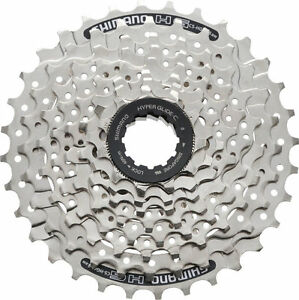 Sporting Goods Strict 8-fach Cassette Shimano Cs-hg41 11-30 Dents Cassettes, Freewheels & Cogs