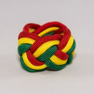 Webelos-Neckerchief-Slide-Woggle-Cub-Boy-Scout-Turks-Head-Knot-Paracord-Handmade