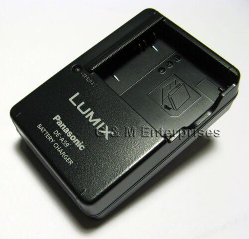 Panasonic DE-A59B Cargador para Lumix DMC-F2 F3 FH1 FH20 FH22 FH3 FP8 FS12