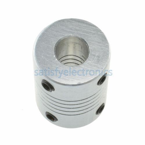 6.35 x 8mm CNC Motor Jaw Shaft Coupler 6.35mm To 8mm Flexible Coupling Gadgets