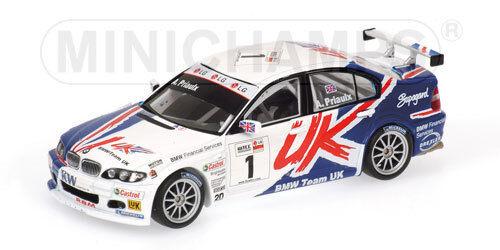 BMW 320i 'RBM'  1 A.Priaulx  Champion WTCC  2005 (Minichamps 1 43   400052401)