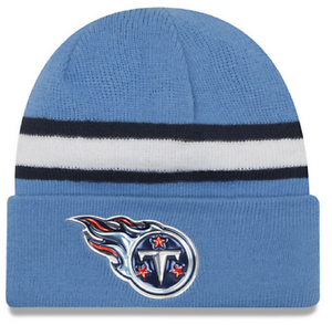 fd127964e9329 Tennessee Titans New Era NFL On Field Color Rush Knit Hat 20866103 ...