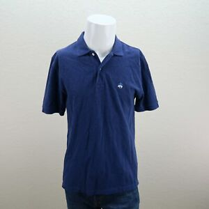 Brooks-Brothers-Blue-Short-Sleeve-Cotton-Original-Fit-Performance-Polo-Mens-S