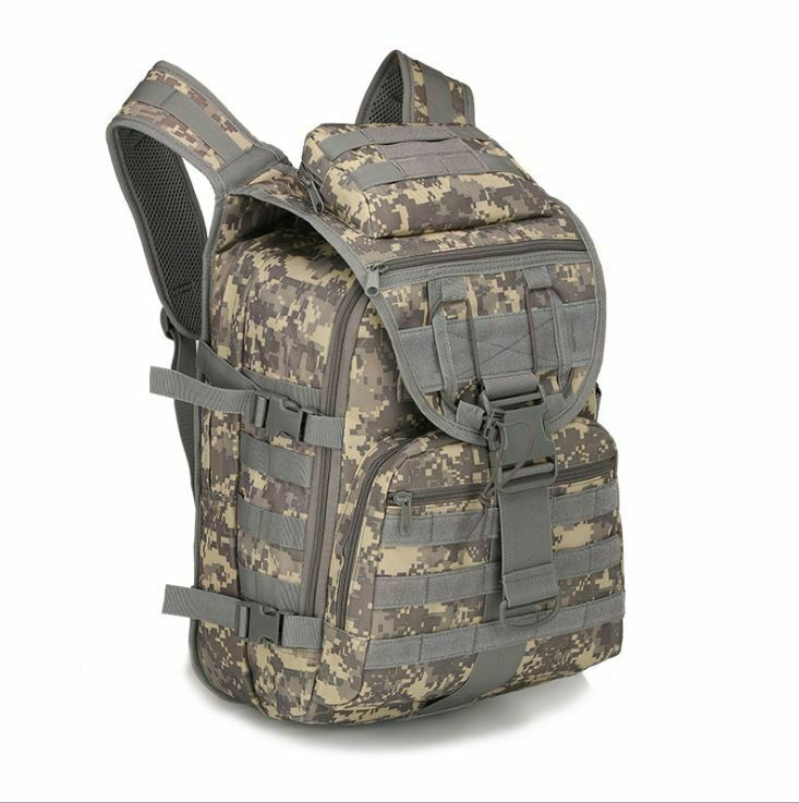 Guys's Large ability Military Rucksack class Hiking Tactical Backpack... - s l1600