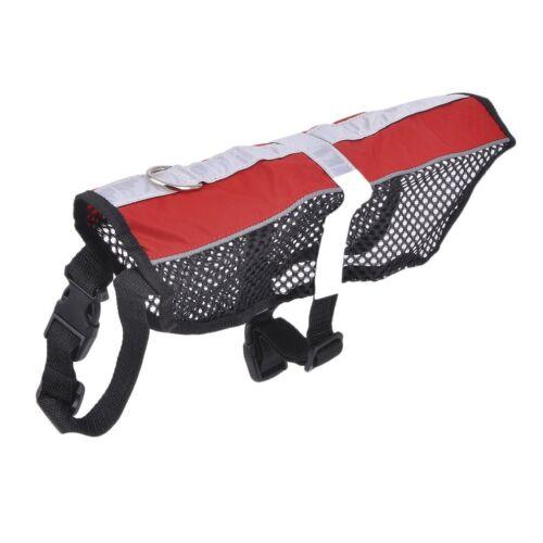 "SERVICE DOG PET Mesh Vest Harness NO Removable Reflective Patch Size 14/""-38/"" BP"