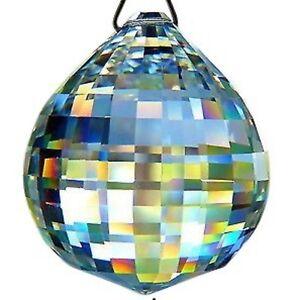 30mm-Clear-Disco-Ball-Chandelier-Crystal-Prism-Lead-Crystal-Suncatcher