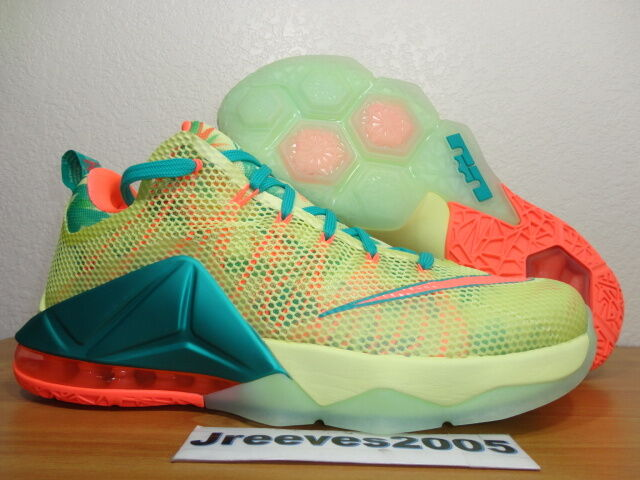 best loved 9bdeb df9a5 Nike Lebron XII 12 Low PRM Lebronald Palmer 776652-383 DS Size 10 for sale  online   eBay