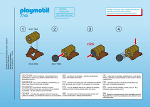 Playmobil Kanone Dicke Berta 7743 Neu /& OVP wie 3111 Kanonenkugeln Ritter Burg