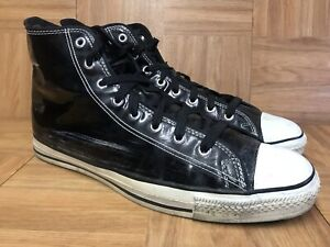 Black Patent Leather Made In USA Sz 13