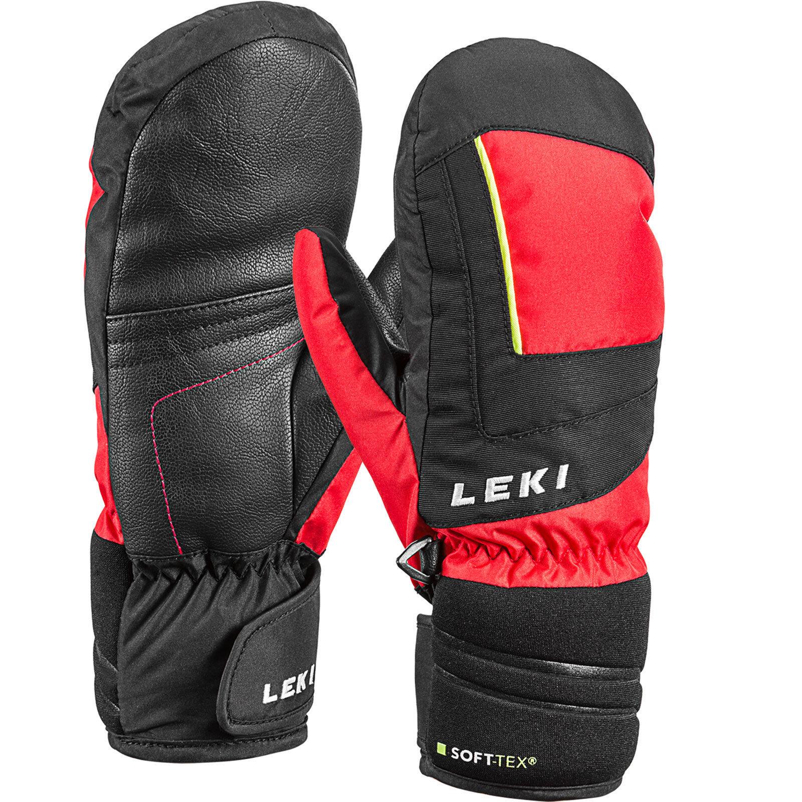 Leki Nico Junior Mitten Kinder-Handschuhe Mittens Mittens Ski Winter