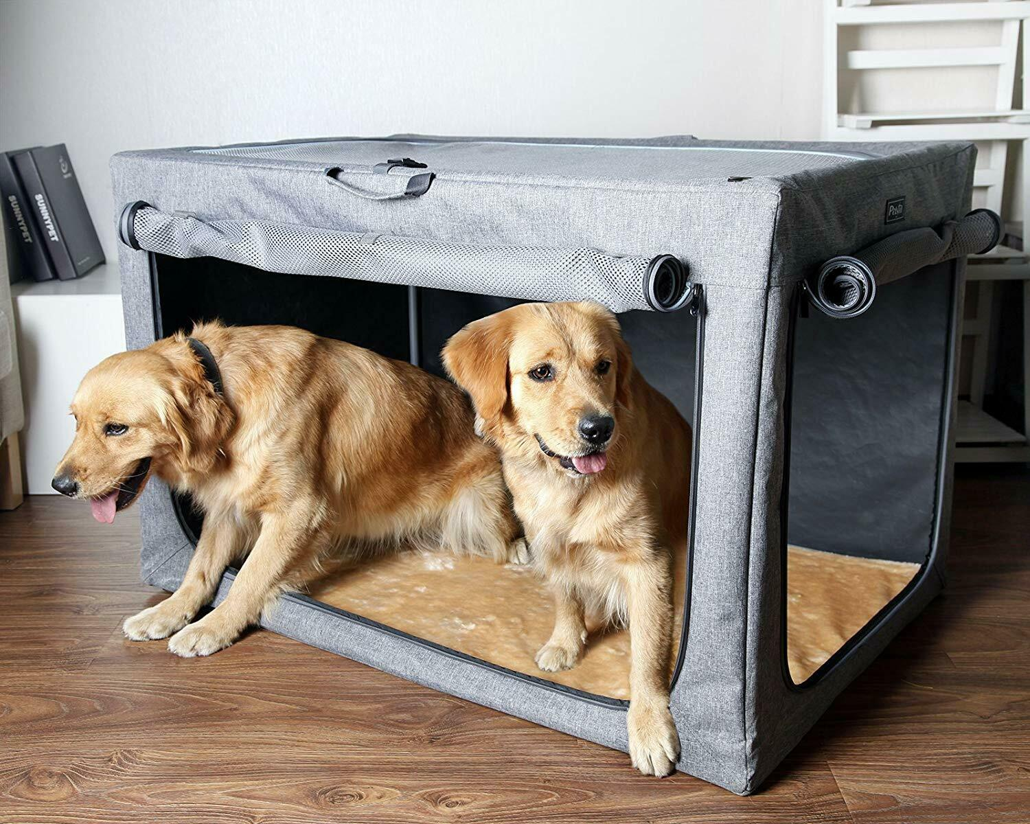 Petsfit Travel Collapsible Home Soft Crate Indoor Outdoor XL 42  X 28  X 27  NIB