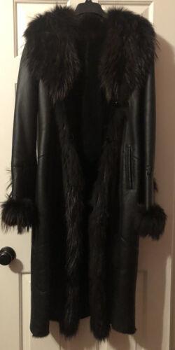 Cuir Dimitri Long Leather Coat