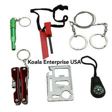 Survival Kit Emergency SOS Survive Tool Pack for Camping Hiking