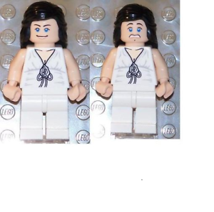 White Outfit FROM SET 7683 INDIANA JONES iaj007 NEW LEGO Marion Ravenwood