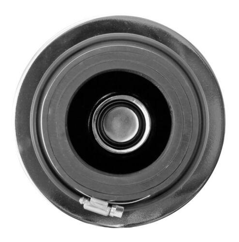 "Air Intake Filter Fits 3/"" 3.5/"" /& 4/"" Diameter Tube Red Cone 8132 Pre-Oil ReUse"