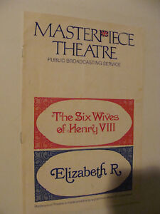 Six-Wives-of-King-Henry-VIII-Elizabeth-R-PBS-1970-71-Masterpiece-Theatre-Guide
